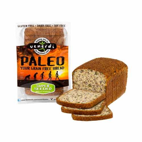 Paleo Bread Super Seeded Frozen