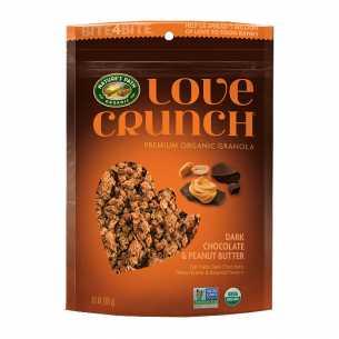 Love Crunch Granola Dark Chocolate and Peanut Butter