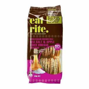 Crackers Brown Rice - Sea Salt and Apple Cider Vinegar