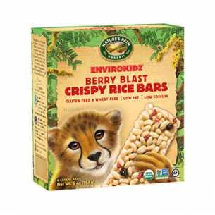 Organic Berry Blast Crispy Rice Bars