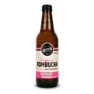 Raspberry Lemonade Kombucha