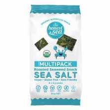 Organic Seaweed Snacks Sea Salt Multipack