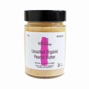 Peanut Butter Unsalted Organic
