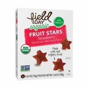Organic Strawberry Stars