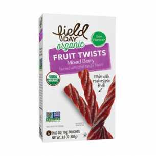 Organic Mixed Berry Fruit Twist