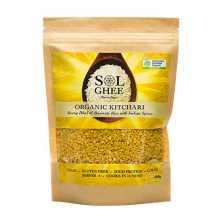 Sol Organics<br />Organic Moong Dhal and Basmati Rice Mix 400g