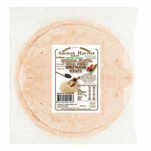 Organic Quinoa Chia Seed Spelt Flour Wraps