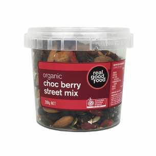 Organic Street Mix Choc Berry