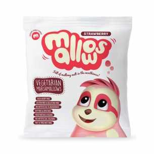Strawberry Marshmallows Vegan