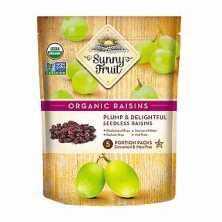 Sunny Fruit<br />Organic Dried Raisins 250g