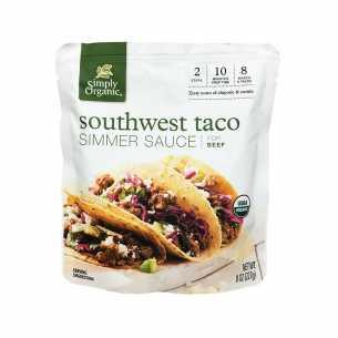 Southwest Taco Simmer Sauce