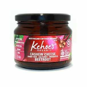 Vegan  Beetroot Cashew Cheese