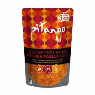Free Range Spanish Chicken Paella Soup