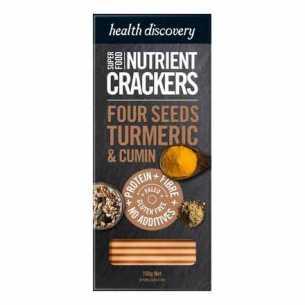 Paleo Four Seeds Turmeric Cumin Sumac Nutrient Crackers