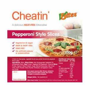 Cheatin Pepperoni-style Slices