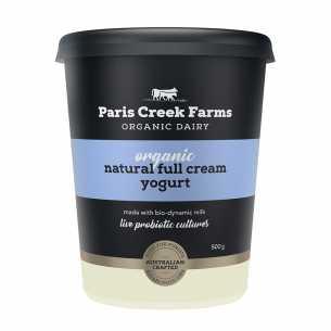 Natural Full Cream Yoghurt