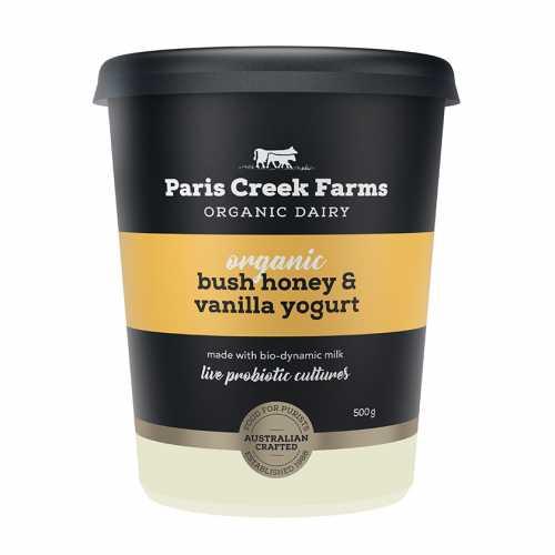Bush Honey And Vanilla Yoghurt