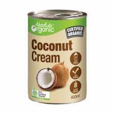 Absolute Organic<br />Organic Coconut Cream 400ml