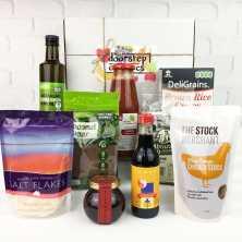 <br />Organic and Gourmet Pantry Basics Hamper each
