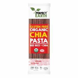 Organic Rice and Chia Pasta Red