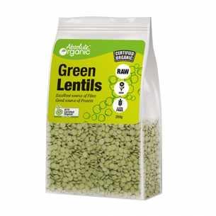 Lentils Green Whole