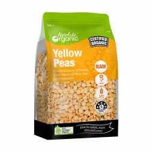 Absolute Organic<br />Split Yellow Peas 400g