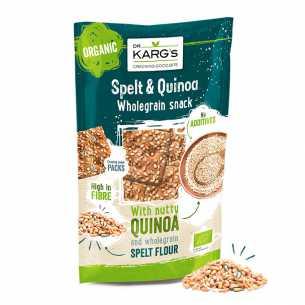 Spelt and Quinoa Snack