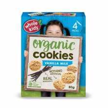 Whole Kids <br />Vanilla Milk Cookies 80g