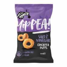 Chickpea Puffs Salt and Vinegar