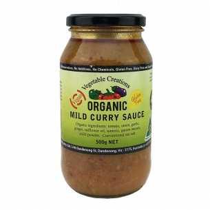Organic Mild Curry Sauce