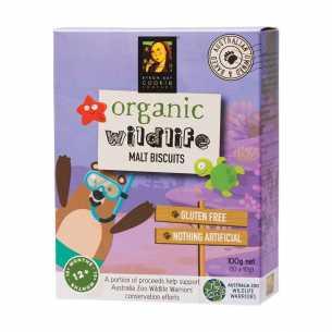 Organic Wildlife Malt Biscuits
