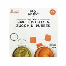Baby Bistro<br />Puree Sweet Potato and Zucchini 360g