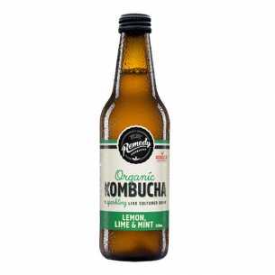 Lemon, Lime and Mint Kombucha