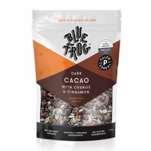 Dark Cacao, Orange and Cinnamon Paleo Cereal