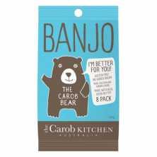 The Carob Kitchen<br />Banjo The Carob Bear - 8 pack 120g