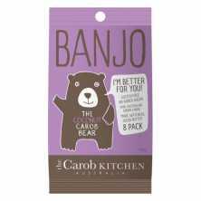 The Carob Kitchen<br />Banjo The Coconut Carob Bear - 8 pack  120g