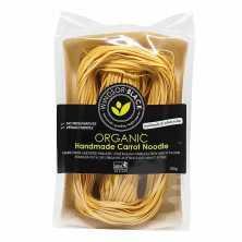 Handmade Carrot Noodles