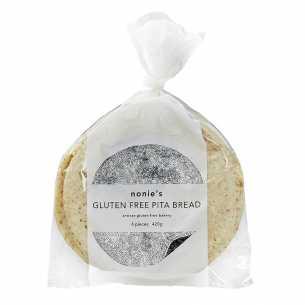 Gluten Free Pita Bread - Frozen