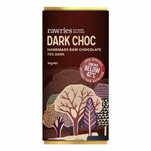 Raw 75% Dark Chocolate