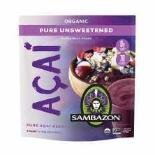Sambazon<br />Acai Unsweetened 4 x 100g