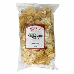 Organic Yellow Corn Chips