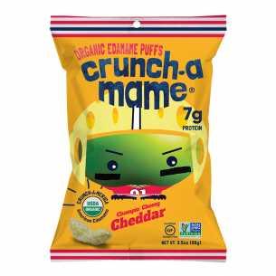 Organic Edamame Puffs Cheddar