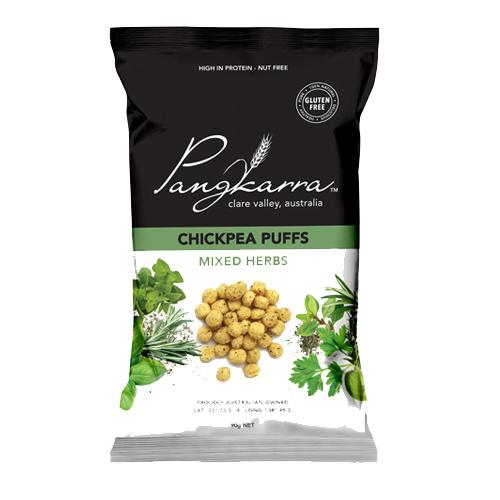 Get Farmed Chickpea Puffs Aussie Barbeque 80g
