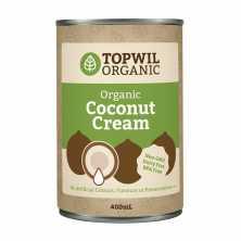 Topwil<br />Organic Coconut Cream<br> 400ml