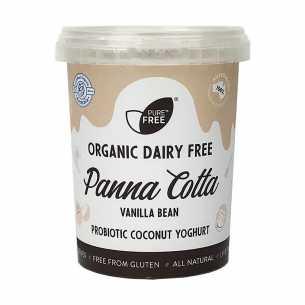 Organic Coconut Yoghurt Panna Cotta Vanilla Bean Vegan