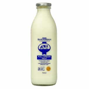 Milk Full Cream Unhomogenised Glass