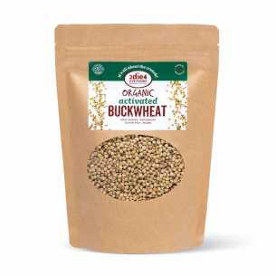 Organic Activated Buckwheat