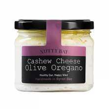 Cashew Cheese - Olive Oregano
