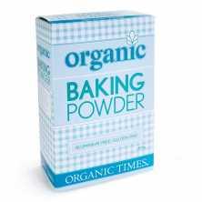 Organic Times<br />Baking Powder 200g