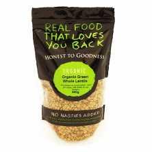Organic Green Whole Lentils